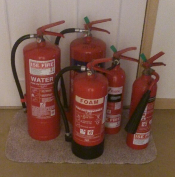 Which extinguisher would you choose for a petrol fire?