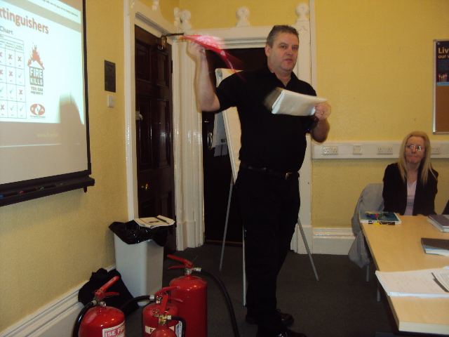 Fire Marshal Training For Birmingham And Solihull Nhs