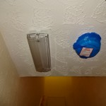Ensure dust covers are removed from smoke detectors